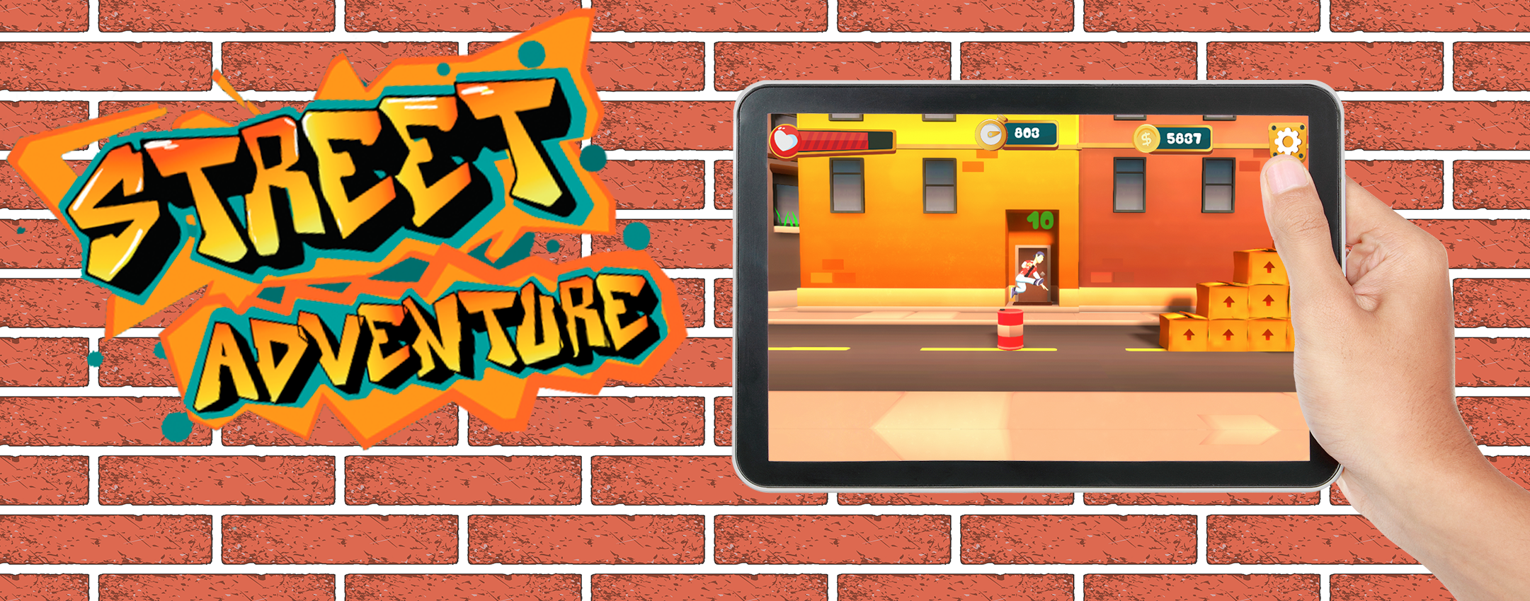 Street Adventures – Le Parkour Game