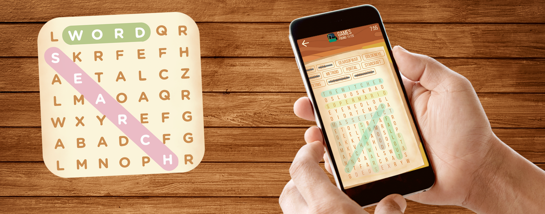 Wizard – Word Search